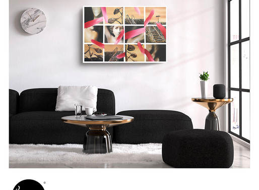What'd be APPROPRIATE for wall decor?
