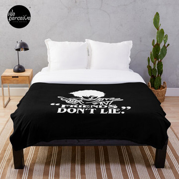 TV series inspired collection - Stranger things - FRIENDS DON'T LIE Throw Blanket