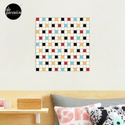 We LOVE the 80s - VINTAGE grid pattern Photographic Print