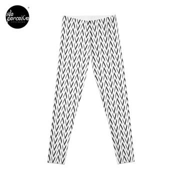 Geometric designed leggings
