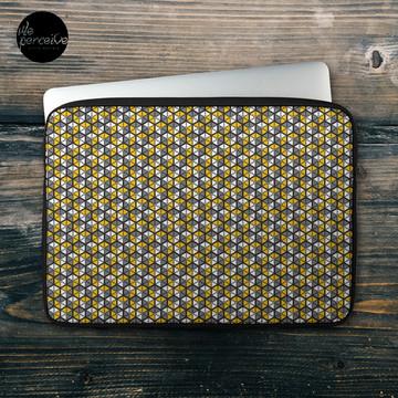 Geometric Cubes Laptop Sleeve