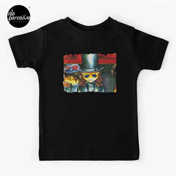 Movie inspired collection - Dracuzard - Count Dracula Baby T-Shirt in black