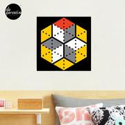 Geometric Cubes Photographic Print