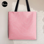 Psychology Things SPECIAL PINK Edition - Maslow's HIERARCHY of NEEDS Tote Bag