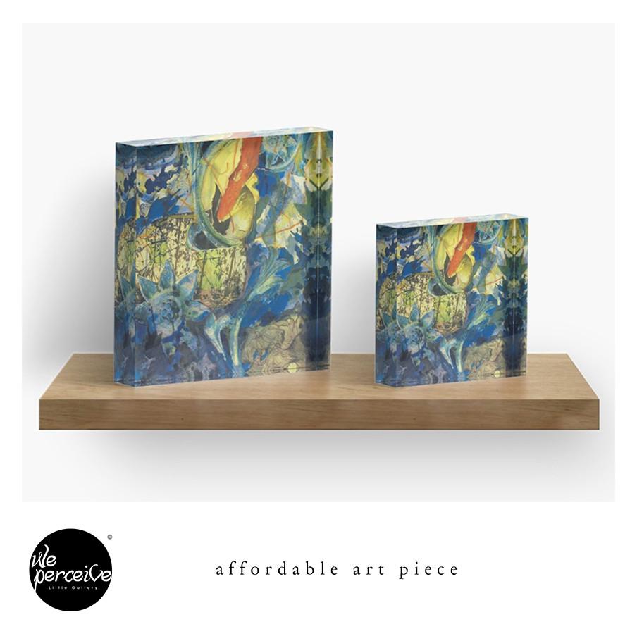 Artistic acrylic block sizes