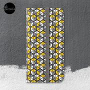 Geometric Cubes iPhone Wallet