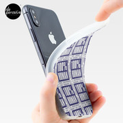 Human Distortion iPhone soft case flexib