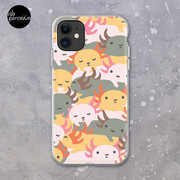 AXOLOTL WAVE - We are the CUTEST CREATURE in the Water World iPhone Case & Cover