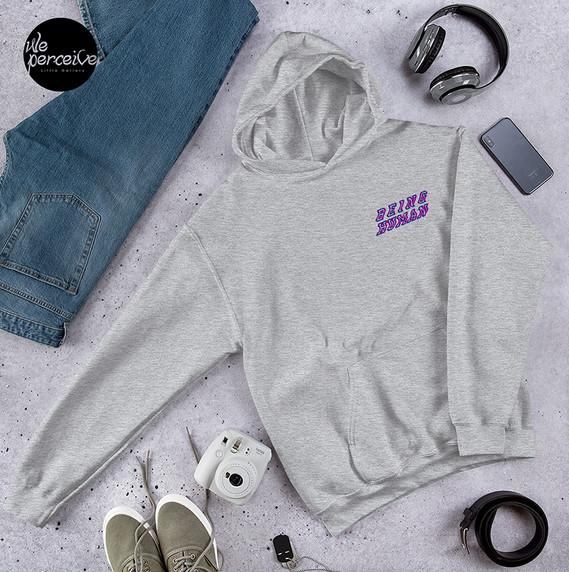 human  pullover hoodie