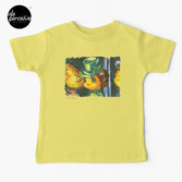 Movie inspired collection - Dracuzard - Mina Harker Baby T-Shirt in Light Yellow