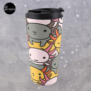 AXOLOTL WAVE Style 2 - We are the CUTEST CREATURE in the Water World Travel Mug