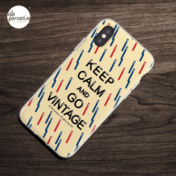 KEEP CALM AND GO VINTAGE iPhone Case & Cover