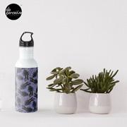 WE LOVE M.C. ESCHER style - Axolotl symmetrical pattern Water Bottle