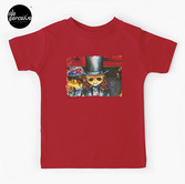 Movie inspired collection - Dracuzard - Count Dracula Baby T-Shirt in red