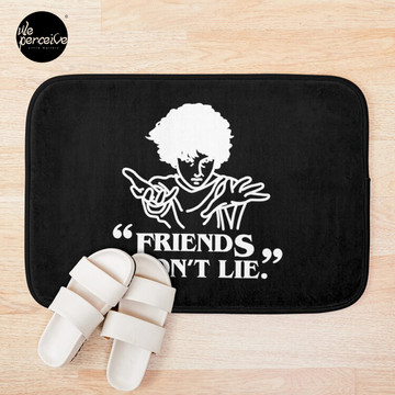 TV series inspired collection - Stranger things - FRIENDS DON'T LIE Bath Mat