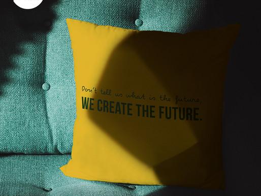 Love YELLOW cushion