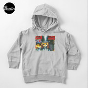 Movie inspired collection - Dracuzard - Count Dracula Toddler Pullover Hoodie in Heather Grey