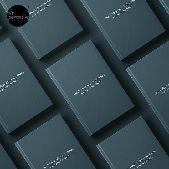 We Create The Future 2 hardcover noteboo