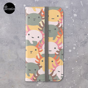 AXOLOTL WAVE - We are the CUTEST CREATURE in the Water World iPhone Wallet