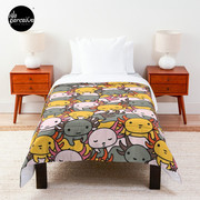 AXOLOTL WAVE Style 2 - We are the CUTEST CREATURE in the Water World Comforter