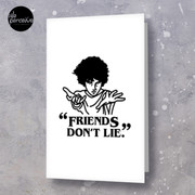 TV series inspired collection - Stranger things - FRIENDS DON'T LIE Greeting Card