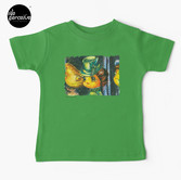 Movie inspired collection - Dracuzard - Mina Harker Baby T-Shirt in Green