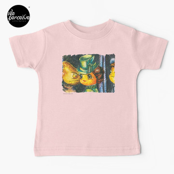 Movie inspired collection - Dracuzard - Mina Harker Baby T-Shirt in Pink