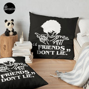TV series inspired collection - Stranger things - FRIENDS DON'T LIE Floor Pillow