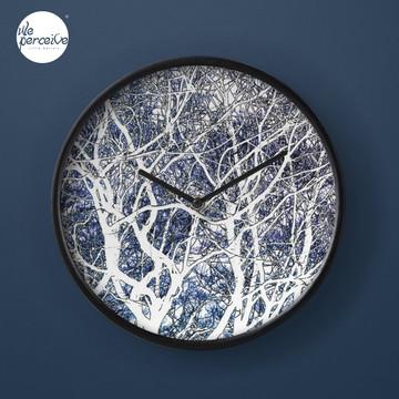 Violet forest Clock