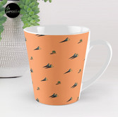 DAY - Egypt pyramid and cactus pattern in ORANGE Tall Mug