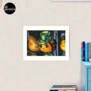 Movie inspired collection - Dracuzard - Mina Harker Art Print