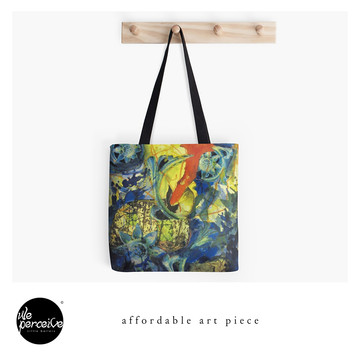 Afordable art piece tote bag