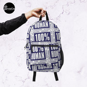 100% HUMAN - Distortion of Humanity Backpack