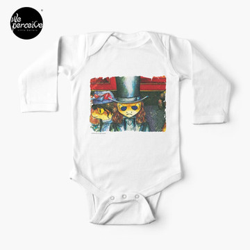 Movie inspired collection - Dracuzard - Count Dracula Baby One-Piece in white