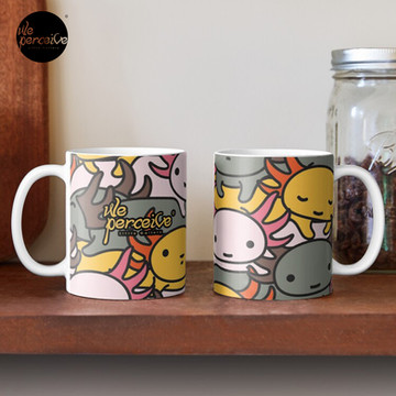 AXOLOTL WAVE Style 2 - We are the CUTEST CREATURE in the Water World Mug
