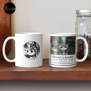 Movie inspired collection - Dracuzard - Count Dracula Mug