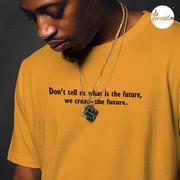 Create the future tshirt in yellow