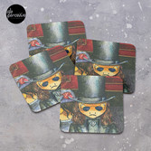 Movie inspired collection - Dracuzard - Count Dracula Coasters (Set of 4)