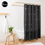 Don't tell us WHAT IS THE FUTURE, WE CREATE the future! Shower Curtain