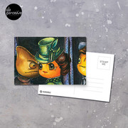 Movie inspired collection - Dracuzard - Mina Harker Postcard