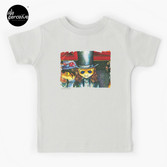 Movie inspired collection - Dracuzard - Count Dracula Baby T-Shirt in light grey