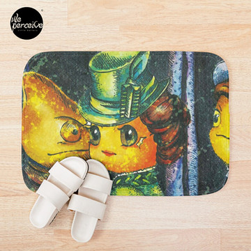 Movie inspired collection - Dracuzard - Mina Harker Bath Mat