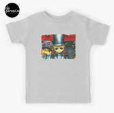 Movie inspired collection - Dracuzard - Count Dracula Baby T-Shirt in heather grey