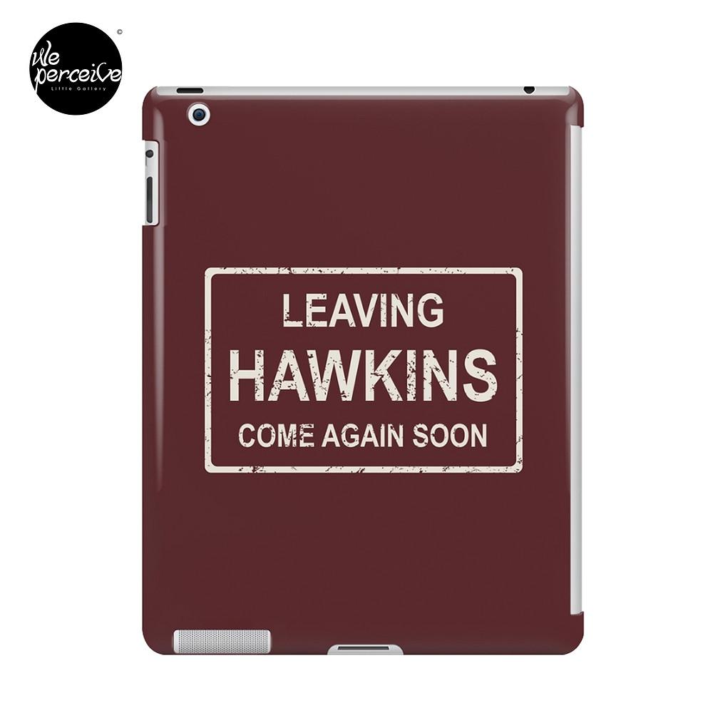 Stranger Things Leaving Hawkins iPad Case