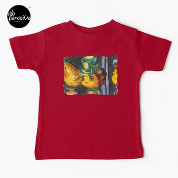 Movie inspired collection - Dracuzard - Mina Harker Baby T-Shirt in Red