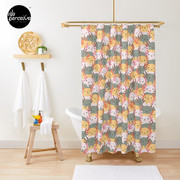AXOLOTL WAVE - We are the CUTEST CREATURE in the Water World Shower Curtain