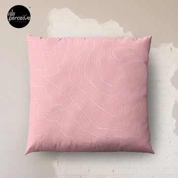 Psychology Things SPECIAL PINK Edition - Maslow's HIERARCHY of NEEDS Floor Pillow