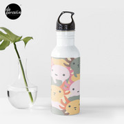 AXOLOTL WAVE - We are the CUTEST CREATURE in the Water World Water Bottle