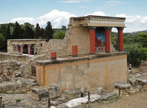 Minoan civilization - Aegean frescos - Dauphins de la Reine de Knossos