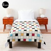 We LOVE the 80s - VINTAGE grid pattern Comforter
